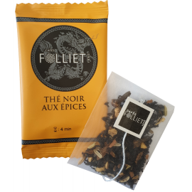 Thé noir aux EPICES  x 24 sachets individuels