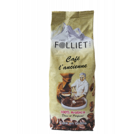 Café à l'ANCIENNE 100 % arabica 250 g en grains