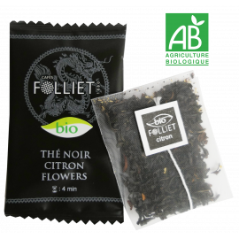 Thé noir Citron Flower bio x24
