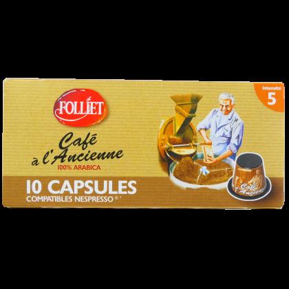 Capsules compatibles Nespresso Ancienne X10