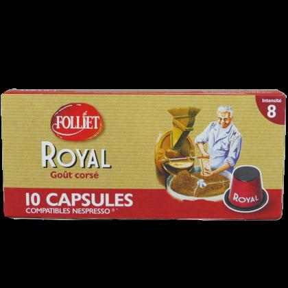 Capsules compatibles Nespresso Corsé X10
