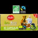 Capsules compatibles Nespresso Bio Kivu x10