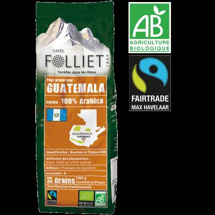 Café Bio Guatemala en grains 250g