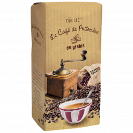 Café de PHILOMENE 100 % arabica en grains en pack de 1 kg